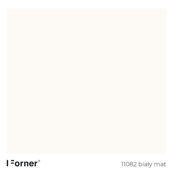 próbka koloru 11082-bialy-mat-plyty-meblowe-supermat-Forner-Scratch-Resistant