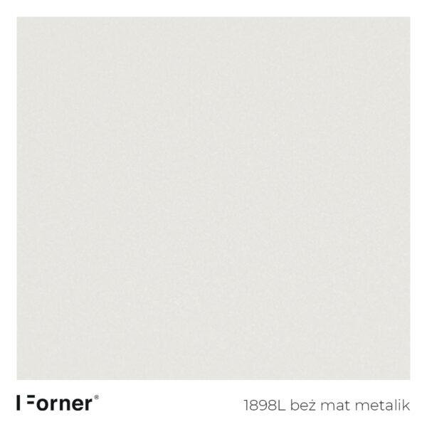 próbka koloru 1898L beż mat metalik - płyty meblowe supermat Forner Scratch Resistant