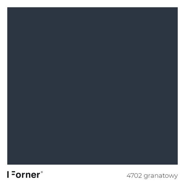 próbka koloru 4702 granatowy - akrylowe płyty meblowe supermat SR Forner