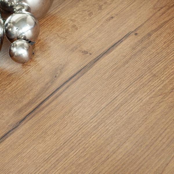 meble w łazience - blat z płyty meblowej Sable LR34 o rysunku i strukturze drewna od Forner