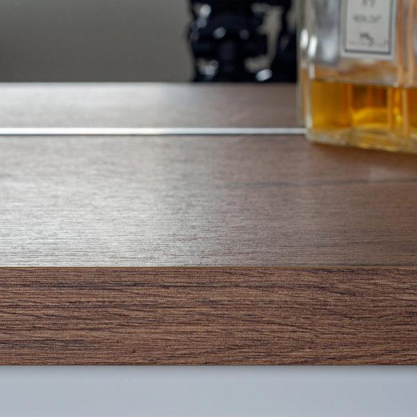 blat do łazienki - drewniany blat z płyty Cleaf Sable LR34 Forner