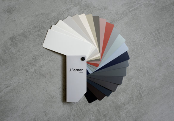 wzornik listkowy ultramatowych płyt Velvet Forner
