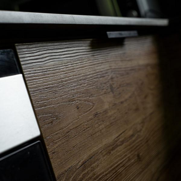 drewniane fronty z płyty meblowej Cleaf Engadina S060 Adula