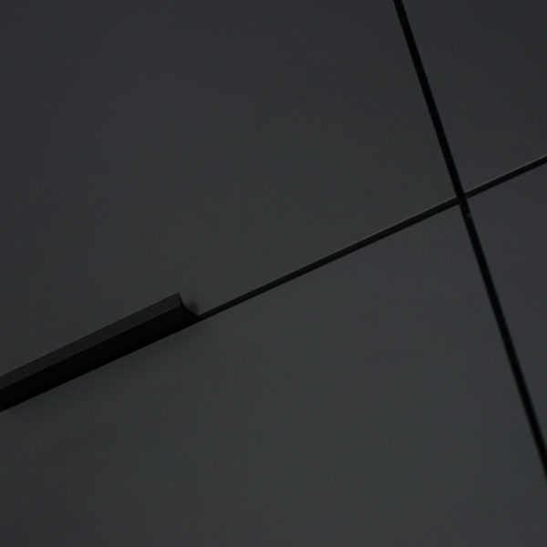 grafit mat - fronty kuchenne z płyty meblowej Forner Velvet Grafit 7394