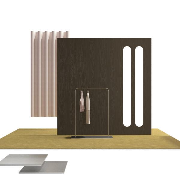 millennium s087 watson - wizualizacja - możliwości zastosowania płyty meblowej, laminatów HPL i obrzeża Cleaf