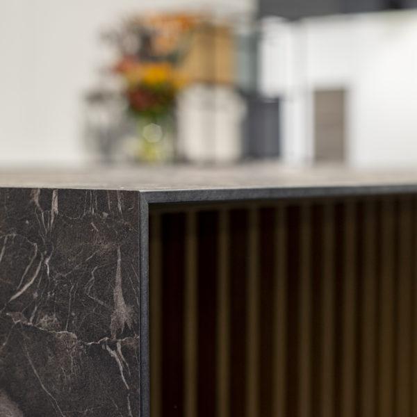 cienki blat kompaktowy Forner - granit OL04 - ekspozycja Warsaw Home