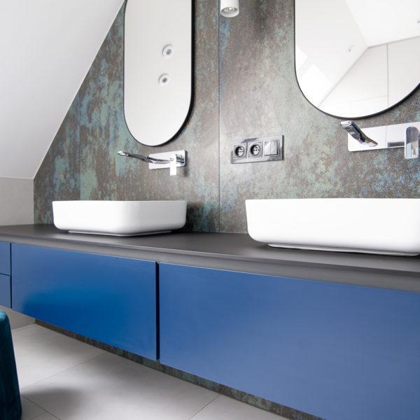 cienki blat kompaktowy Z105 Forner w łazience
