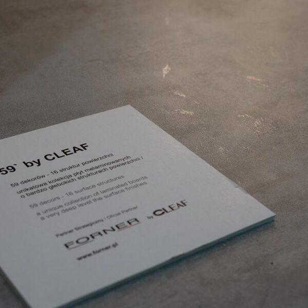 cleaf ares - ekspozycja płyt dekoracyjnych Forner na Viva Light w Poznaniu