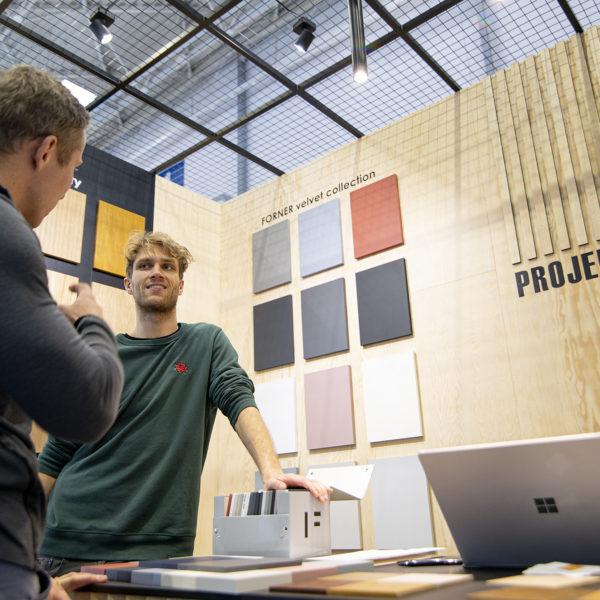 Stoisko projekt deska z kolorami Velvet Forner do kuchni Ikea