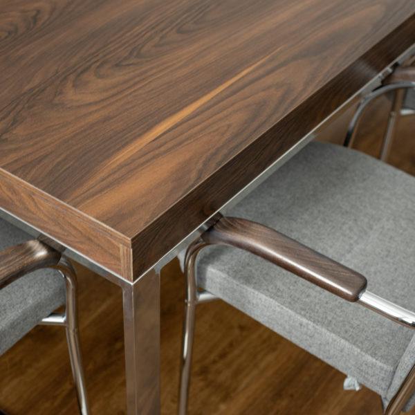 stół z włoskiej płyty dekoracyjnej Cleaf Yosemite S013 Old Jack - sosna szkocka