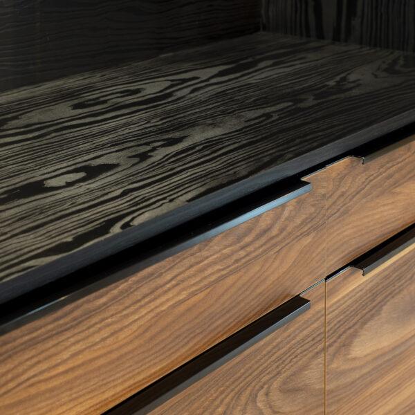 połączenie dwóch dekorów drewnianych Cleaf