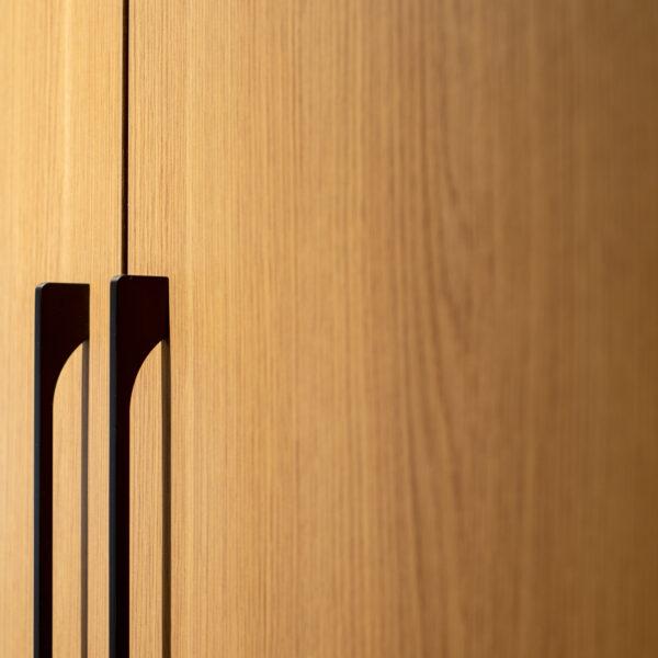 fronty szafy z płyty meblowej sable lr22 valley Forner