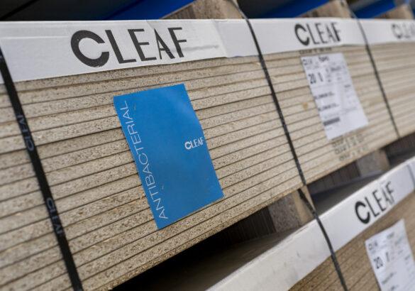 melaminowana płyta meblowa Cleaf z powierzchnią antybakteryjną